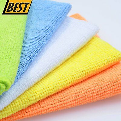 Microfiber Cleaning Cloth Set of 50 Towel Rag Car Polishing Detailing No-Scratch 2