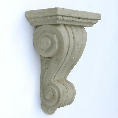 "Corbel Bracket or Shelf Faux Stone Vintage Victorian Style Big 19"" Tall Sconce 2"
