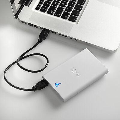 Bipra S3 500GB 2.5 inch USB 3.0 NTFS Portable External Hard Drive - White