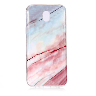 Hybrid Soft TPU Silicone Marble Pattern Case Cover For Samsung Galaxy J3 J5 J7 6
