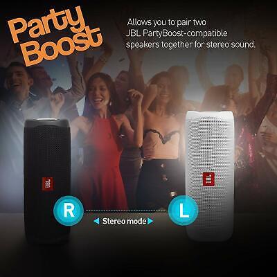 JBL Flip 5 Portable Waterproof Bluetooth Speaker - Black 6