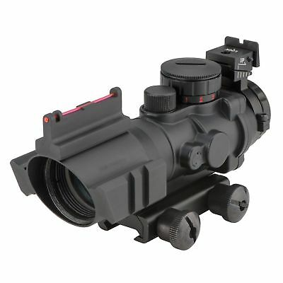 4x32 Tactical Rifle Scope Red & Green &Blue illuminated Reticle Scope 2