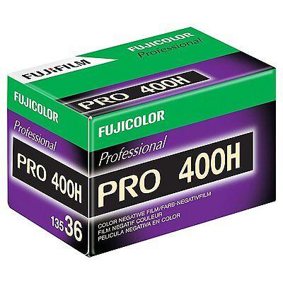 3 Rolls Fuji Pro 400H 135-36 (36 Exp) Color Negative IS0 400 35mm Film 05/2021 2
