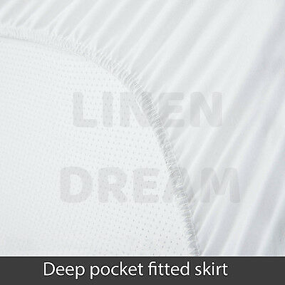 Aus Made Fitted Cotton Cover Quilted Mattress Protector Topper Underlay ALL SIZE 4