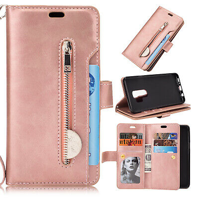 For Samsung Galaxy Note10 Plus S10+ S9 S8 S7 Flip Card Wallet Leather Case Cover 10