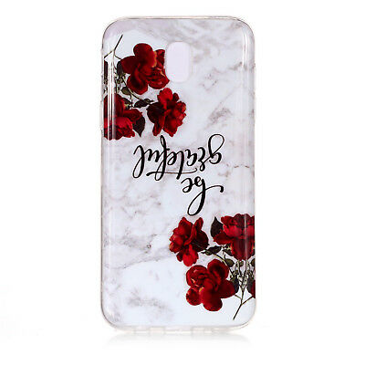 Hybrid Soft TPU Silicone Marble Pattern Case Cover For Samsung Galaxy J3 J5 J7 5