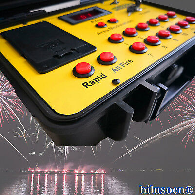 Bilusocn 300M distance+48 Cues Fireworks Firing System remote Control Equipment 2