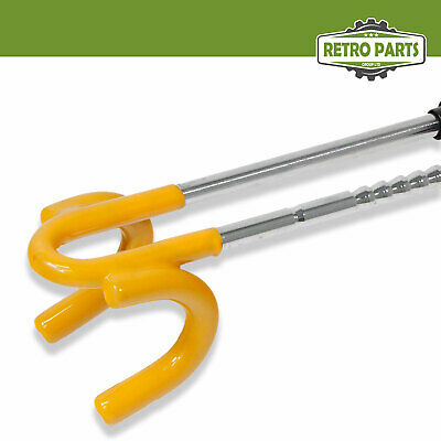 Heavy Duty Steering Wheel Lock for Toyota. Twin Bar High Security Hi-Vis 5