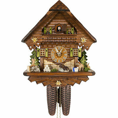 Cuckoo Clock: The Summer Meadow Chalet with 8-day-movement 2