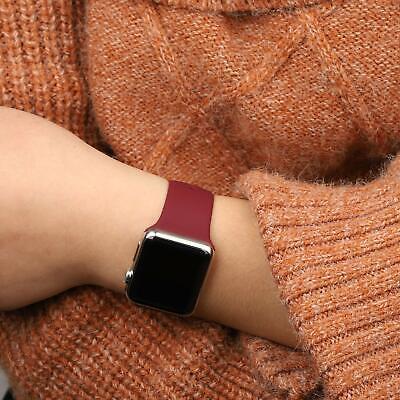 Sports Silicone Bracelet wrist band F Apple Watch Series 5 4 3 2 1-38 40 42 44mm 7