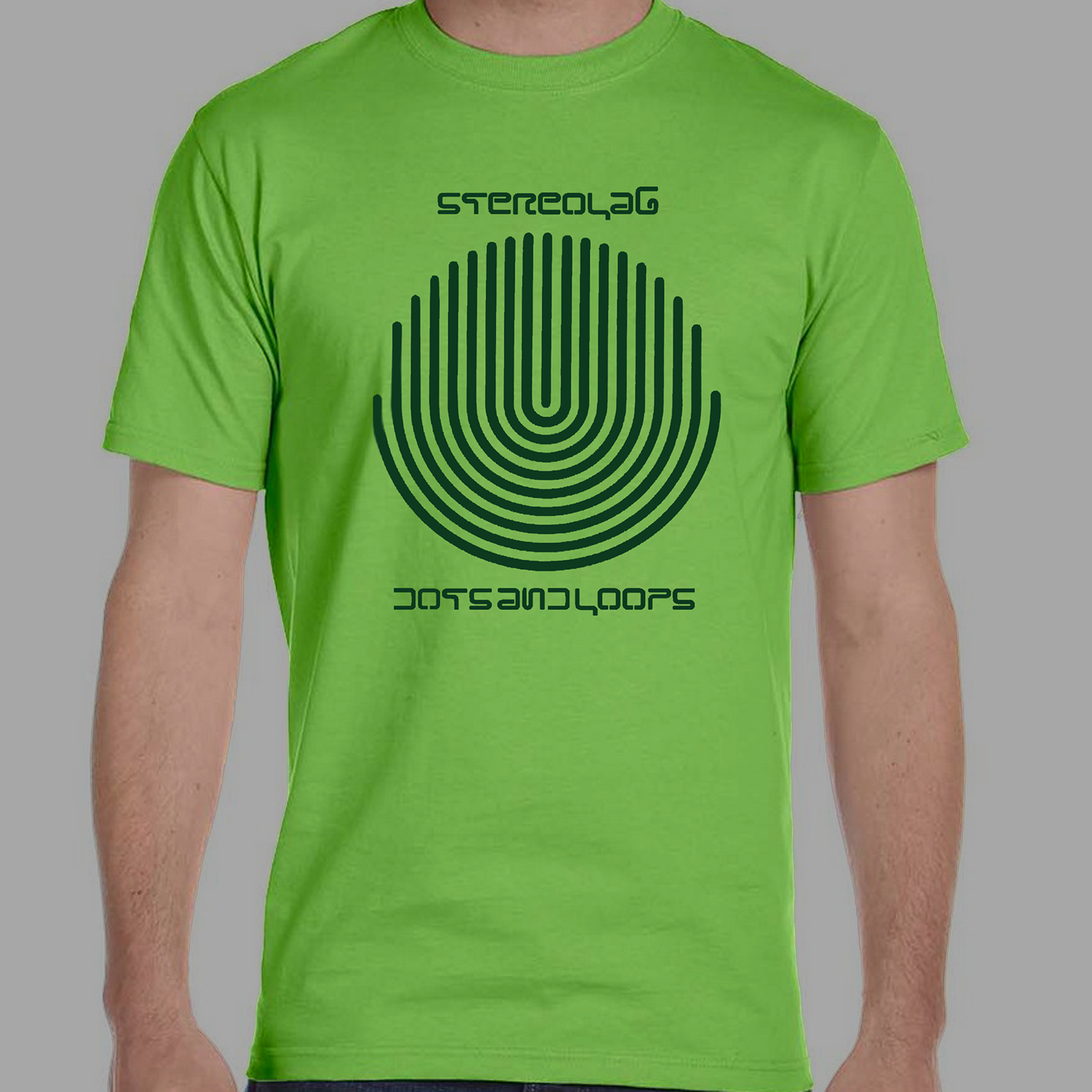 dots and loops Emperor Tomato Ketchup Switched On peng T-SHIRT Stereolab