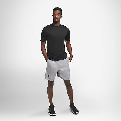 Russell Athletic Men's Cotton Performance Baseline Short with Pockets 12