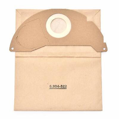 Staubsaugerbeutel für Karcher 6.959-130.0 6.904-322.0 Papiertüten Filter MV4 MV3 3