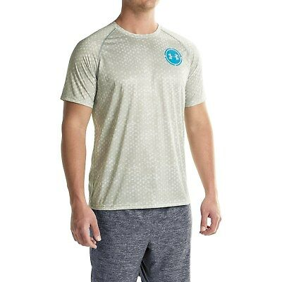 NWTS~ MEN/'S UNDER ARMOUR TECH SCOPE PRINTED HEAT GEAR T-SHIRT M-XL LOOSE FIT
