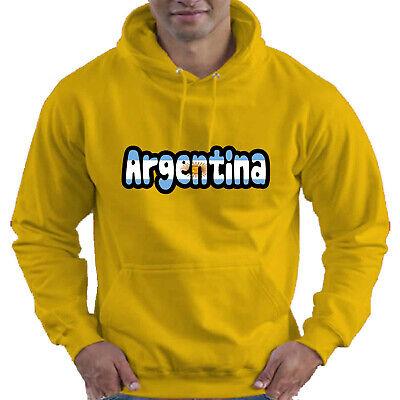 Argentina Flag Love Childrens Childs Kids Boys Girls Hoodie Hooded Top 12