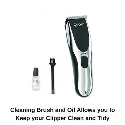Wahl Cordless Rechargeable Professional Hair Clipper Shaver Trimmer Grooming Set 10
