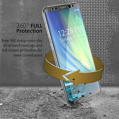 Coque Protection 360 Intégrale Samsung S10 S9 S8 J6 J4 Shockproof Full Cover 4