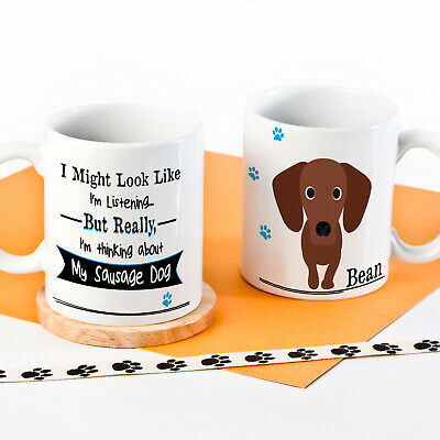 Personalised Dog Mug Funny Pet Cup Birthday Gift All Breeds 10