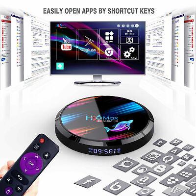 2020 H96 MAX X3 4GB+32GB Android 9.0 TV Box Smart Amlogic S905X3 Dual WIFI BT UK 6