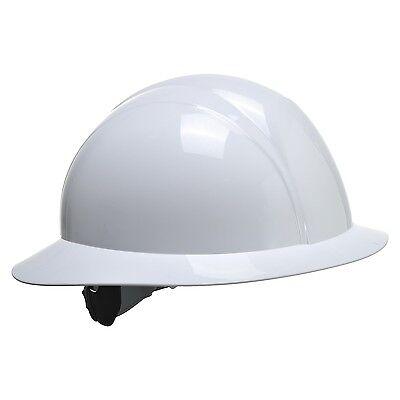 Portwest PS52 weiß Sicherheit Leichtgewicht Voller Krempe Future Helm