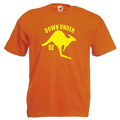 Australia Kangaroo Adults Mens T Shirt 3