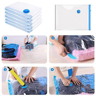 12Stk Vakuumbeutel Kleiderbeutel beutel Platzersparend für Kleidung Aufbewahrung