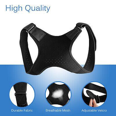 Back Posture Corrector Shoulder Straight Support Brace Belt Therapy Men Women 7
