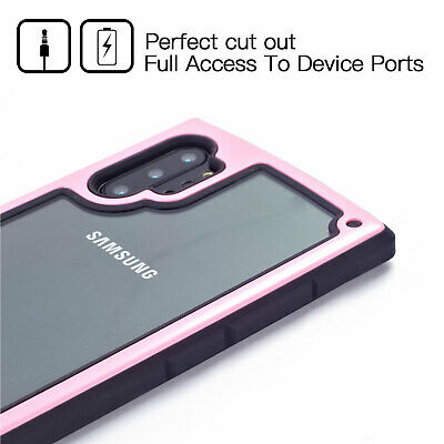 For Samsung Galaxy Note10/10 Plus Shockproof Hybrid Armor Rugged Soft Case Cover 2