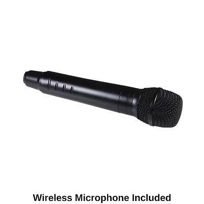 Portable Karaoke Machine Home Audio Bluetooth Speaker System Wireless Microphone 5