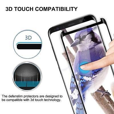 100% Genuine tempered glass screen protector for Samsung Galaxy S9 - Black 2
