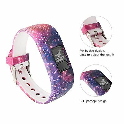 Replacement Band for GARMIN VIVOFIT 3 JR 1 JUNIOR 2 3 Fitness Wristband Tracker 10