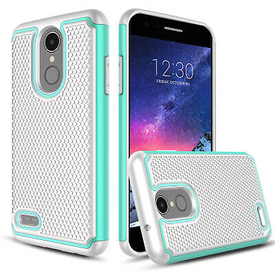 For LG Aristo 2/Phoenix 4/Rebel 4/Zone 4/Fortune 2 Shockproof Phone Case Cover