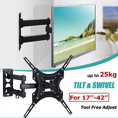 TV WALL MOUNT BRACKET LCD LED Plasma Flat Slim 32 40 42 47 50 52 55 60 65 70 AU 11