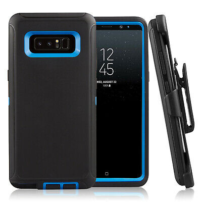 FOR SAMSUNG GALAXY Note 8 Case Cover & Clip Fits Otterbox Rugged Defender  Series