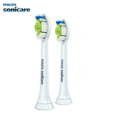 Philips Sonicare DiamondClean Genuine White Brush Heads New Original 2PCS 5