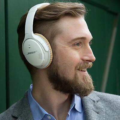 Bose SoundLink II Around-Ear Wireless Headphones HD NFC White 🎧 AE II Bluetooth 4
