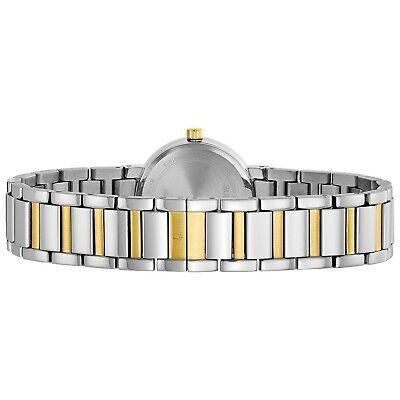 Bulova Futuro Women's Quartz Diamond Accents Two-Tone Bracelet 26mm Watch 98P157 3