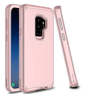 For Samsung Galaxy S9 Plus/S8 Shockproof Hybrid Hard Armor Full Cover Phone Case 3