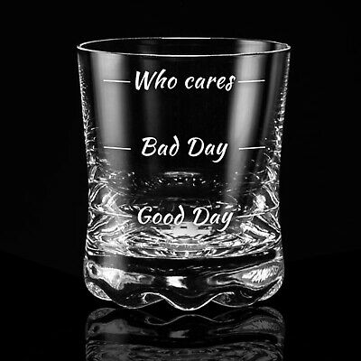 Whiskeyglas Wie war dein Tag? Whiskyglas How was your day? Whiskey Tumbler 4