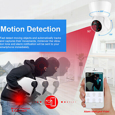 720P/1080P Wireless IP Security Camera Indoor CCTV Home Smart Wifi Baby Monitor 12