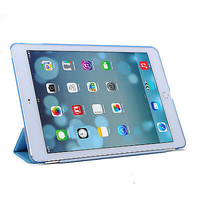 Smart Cover and Hard Back Case for Apple iPad 6th Gen iPad 5 4 3 2 mini Air 7