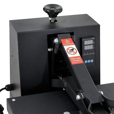"15""X15"" DIY Digital Clamshell T-shirt Heat Press Machine Sublimation Transfer 6"