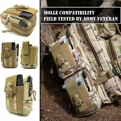 Camping Survival Kit 40 in 1 Outdoor Military Tactical Backpack Emergency Gear 2