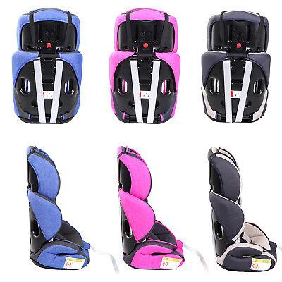 Autokindersitz Autositz Kinderautositz mit Extrapolster Kids 9-36 kg 1+2+3 ECE