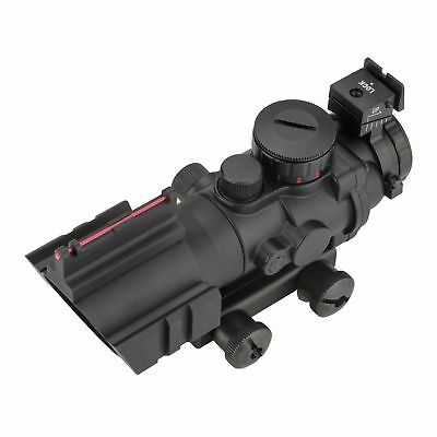 4x32 Tactical Rifle Scope Red & Green &Blue illuminated Reticle Scope 3