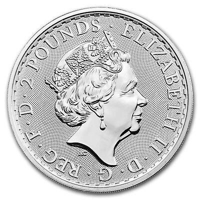 2019 GB 1 oz Silver Britannia (25-Coin MintDirect Premier® Tube) - SKU#171393 3