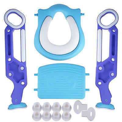 Bébé Formation Siège de Toilette échelle marches pliable Enfant WC Pot éducatif 3