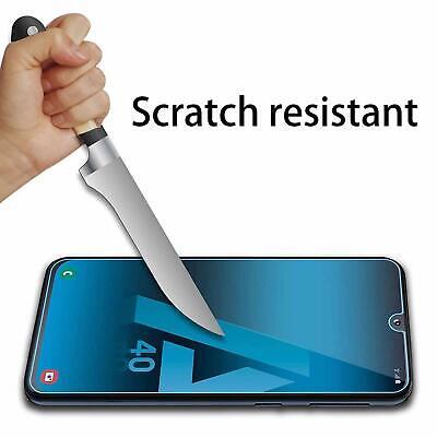Coque Samsung A70 A50 A40 A20e A10 Housse AntiChoc Case Noir+ Film Verre Trempé 12