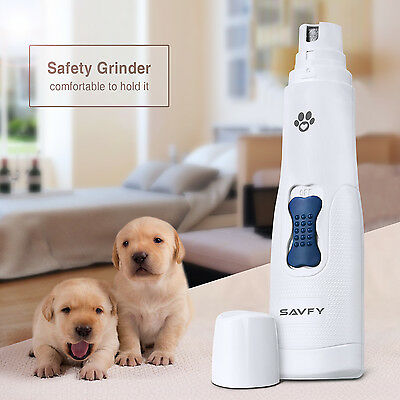 Premium Electric Pet Nail Safe Grinder Paws Grooming Trimmer Dog Cat Pet Clipper