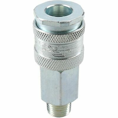 """PCL XF Series Female Coupler 1/4"""" BSP Male Thread & Male Fitting Air Adaptor 3"""